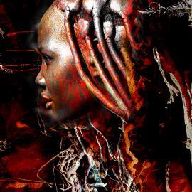 Afrikaanse vrouw - Himba