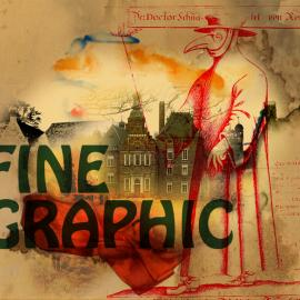 Fine Graphic, digitale kunst, dokter