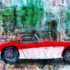 Prachtige auto in Heusden