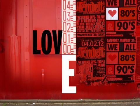 De kleur van de liefde