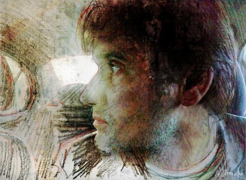 Zelfportret Wim Noordam