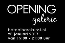 Opening galerie Betaalbare Kunst