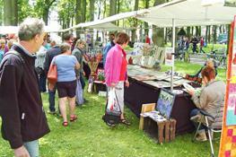 Kunstmarkt Diever op Hemelvaartsdag