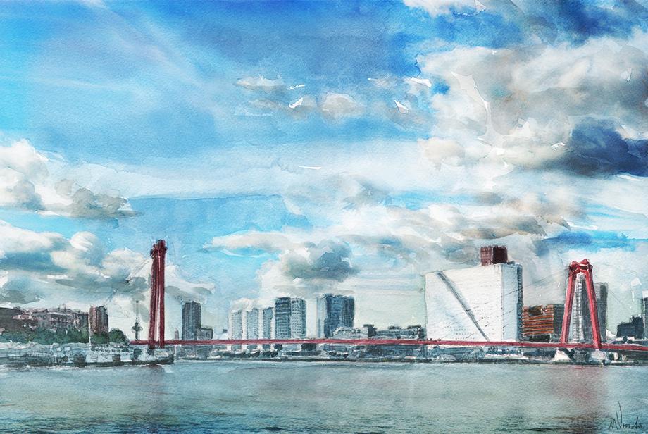 Kunstwerk Willemsbrug